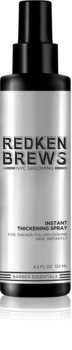 Redken Brews spray volumizzante per capelli delicati