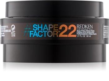 Redken Shape Factor 22 stylingová pasta silné zpevnění