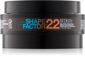 Redken Shape Factor 22 стилизираща паста силна фиксация