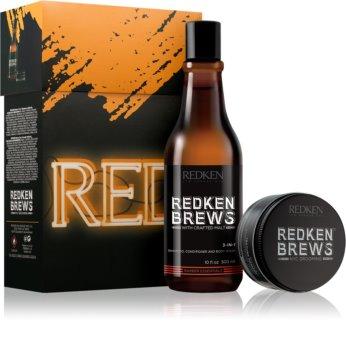 Redken Brews set cadou II. pentru bărbați
