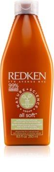 Redken Nature+Science All Soft hydratační kondicionér pro suché a poškozené vlasy