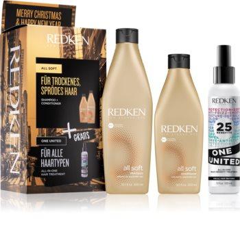 Redken All Soft coffret I. (para o cabelo seco e frágil)