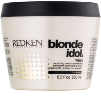 Redken Blonde Idol mascarilla nutritiva para cabello rubio