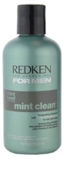 Redken For Men Mint Clean champô para todos os tipos de cabelos