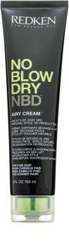 Redken No Blow Dry creme de styling para cabelos finos e com efeito de secagem rápida