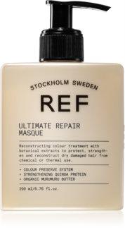 REF Ultimate Repair erneuernde Maske für geschädigtes Haar