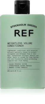REF Weightless Volume balsamo per capelli fini e sfibrati per il volume a partire dalle radici