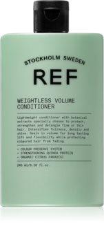 REF Weightless Volume kondicionér pro jemné a zplihlé vlasy pro objem od kořínků