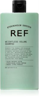 REF Weightless Volume šampon pro jemné a zplihlé vlasy pro objem od kořínků