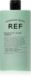 REF Weightless Volume шампоан за тънка коса без обем за обем в корените