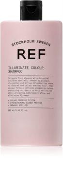 REF Illuminate Colour rozjasňující šampon pro lesk a hebkost vlasů