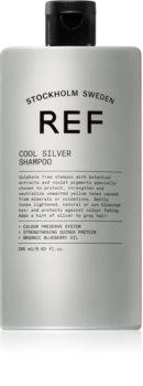 REF Cool Silver Silbershampoo neutralisiert gelbe Verfärbungen