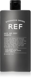 REF Hair & Body šampon a sprchový gel 2 v 1