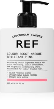 REF Colour Boost Masque mască fină de hrănire fără pigmenți permanenți de culoare
