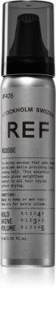 REF Styling Lyxig mousse för volym  För långvarig stadga