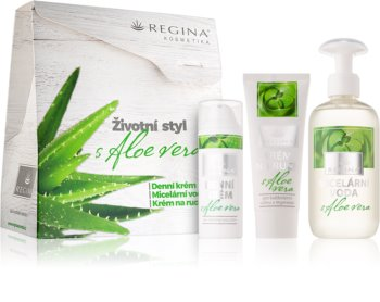 Regina Aloe Vera Cosmetic Set (for All Skin Types) for Women