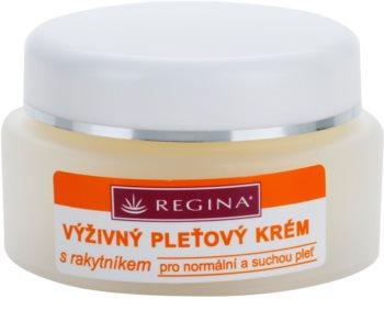 Regina Sea Buckthorn Nourishing Cream for Normal and Dry Skin