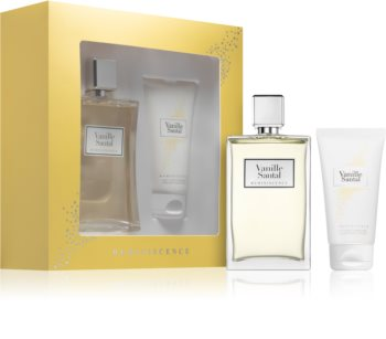 Reminiscence Vanille Santal coffret cadeau mixte