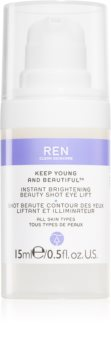 REN Keep Young And Beautiful™ gel de olhos iluminador  com efeito lifting