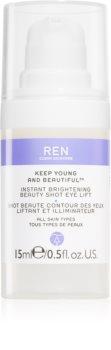REN Keep Young And Beautiful™ Kirkastava Silmägeeli Kohottavalla Vaikutuksella