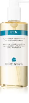 REN Atlantic Kelp And Magnesium Energising Hand Wash Energising Herbal Soap for Hands