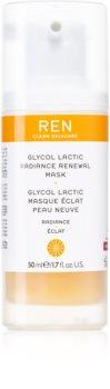 REN Radiance masque exfoliant pour restaurer la surface de la peau