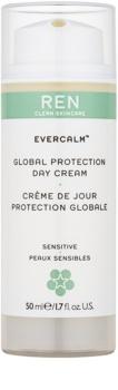 REN Evercalm creme de dia protetor para pele sensível