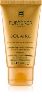 René Furterer Solaire champú nutritivo para cabello contra los efectos del sol, el cloro y la sal