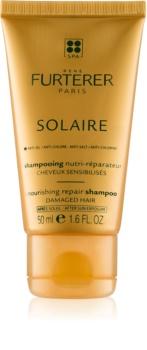 René Furterer Solaire Shampoo mit ernährender Wirkung für durch Chlor, Sonne oder Salzwasser geschädigtes Haar
