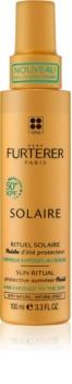 René Furterer Solaire fluid nawilżająco-ochronny do włosów osłabionych działaniem chloru, słońca i słonej wody