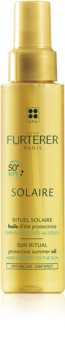 René Furterer Solaire óleo protetor para cabelo danificado pelas ações do sol, cloro e sal