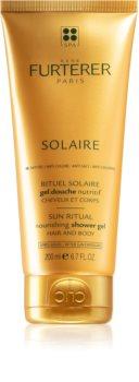 René Furterer Solaire gel de banho nutritivo para cabelo e corpo