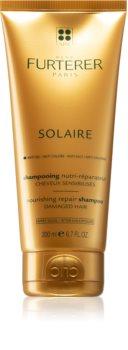 René Furterer Solaire подхранващ шампоан  за коса увредена от слънце, хлор и солна вода