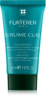 René Furterer Sublime Curl balzam za podporo naravnih valov