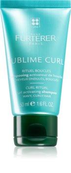 René Furterer Sublime Curl Parantava Hiustenpesuaine Luonnollisesti Kiharoille Hiuksille