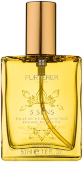 René Furterer 5 Sens δυναμωτικό ξηρό λάδι για σώμα και μαλλιά