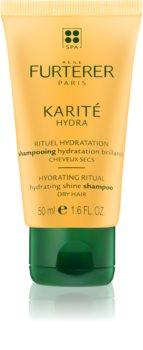René Furterer Karité Hydra shampoo idratante per la brillantezza dei capelli secchi e fragili