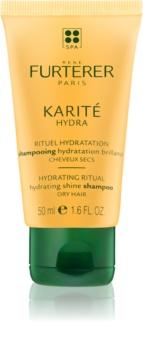 René Furterer Karité Hydra szampon nawilżający nadający blask włosom suchym i łamliwym