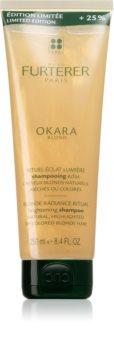 René Furterer Okara Blond aufhellendes Shampoo für blondes und meliertes Haar