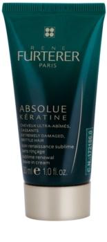 René Furterer Absolue Kératine obnovitvena krema brez spiranja za ekstremno poškodovane lase