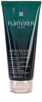 René Furterer Absolue Kératine champô renovador para cabelo extremamente danificado