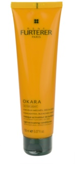 René Furterer Rene Furterer Okara Active Light mascarilla nutritiva para cabello rubio y con mechas