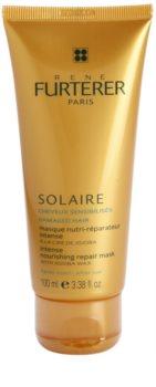 René Furterer Solaire mascarilla nutritiva intensiva para cabello contra los efectos del sol, el cloro y la sal