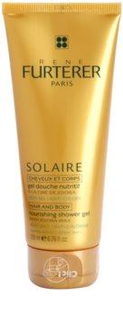 René Furterer Solaire θρεπτικό τζελ για ντους για μαλλιά και σώμα