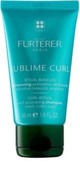 René Furterer Sublime Curl Enhancing Shampoo for Naturally Curly Hair