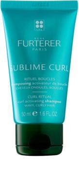 René Furterer Sublime Curl Shampoo zur Unterstützung natürlicher Wellen