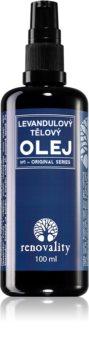 Renovality Original Series olio di lavanda per massaggi corpo