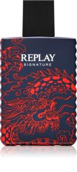 Replay Signature Red Dragon For Man Eau de Toilette for Men