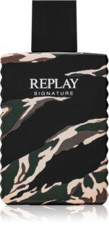 Replay Signature For Him Eau de Toilette per uomo