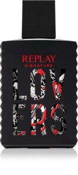 Replay Signature Lovers For Man Eau de Toilette for Men